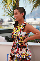 Rosario Dawson at the photocall for the film Captives at the 67th Cannes Film Festival, Friday 16th May 2014, Cannes, France.