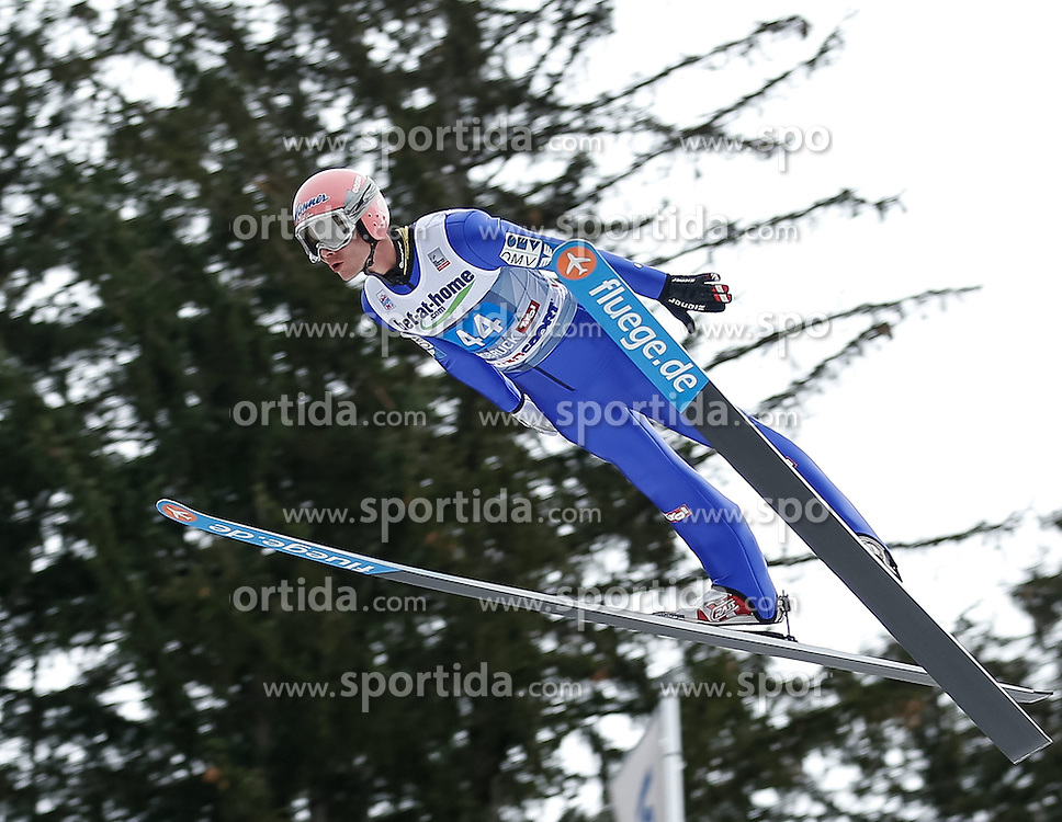 04.01.2014, Bergisel Schanze, Innsbruck, AUT, FIS Ski Sprung Weltcup, 62. Vierschanzentournee, Probesprung, im Bild Manuel Fettner (GER) // Manuel Fettner of Germany during Trial Jump of 62nd Four Hills Tournament of FIS Ski Jumping World Cup at the Bergisel Schanze, Innsbruck, Austria on 2014/01/04. EXPA Pictures © 2014, PhotoCredit: EXPA/ Peter Rinderer