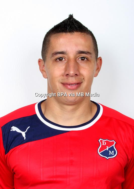Colombia League - Postobom Liga 2014-2015 - <br /> Deportivo Independiente Medellin - Colombia / <br /> Cleider Leandro Alzate