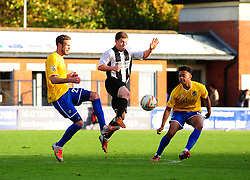 Bristol Rovers' Dominic Thomas , right - Photo mandatory by-line: Neil Brookman/JMP - Mobile: 07966 386802 - 25/10/2014 - SPORT - Football - Dorchester - The Avenue Stadium - Dorchester Town v Bristol Rovers - FA Cup Qualifying with Budweiser