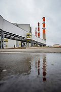 The Canadian Sask Power Plant Boundary Dam claims to be the worlds first coal power plant with viable carbon capture and storage incorporated.