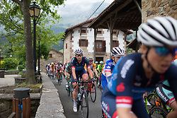 Christina Siggaard (DEN) of Veloconcept Cycling Team reaches Axpe mid-pack during Stage 1 of the Emakumeen Bira - a 50 km road race, starting and finishing in Iurreta on May 16, 2017, in Basque Country, Spain.