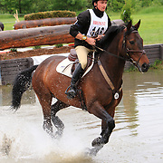 Waylon Roberts and Faolan at the Bromont Three Day Event in Bromont, Quebec, Canada.
