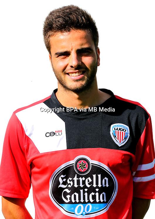 Spain - La Liga Adelante 2014-2015 / <br /> ( C.D. Lugo ) - <br /> Pelayo Novo Garcia