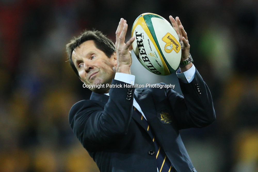 Wallaby coach Roddie Deans before the Tri-Nations rugby Test at Suncorp Stadium in Brisbane,  July 24, 2010. The Wallabies defeated the world champion Springboks to win the first Tri-nations rugby Test 30-13. Photo: Patrick Hamilton/Photosport