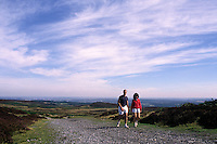 Walking in the Peak District National Park on the outskirts of the City of Sheffield....