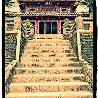 Buddhist temple, Hue. Vietnam