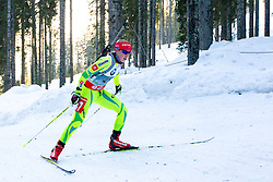 ERZEN Anja of Slovenia during Women 7.5 km Sprint of the e.on IBU Biathlon World Cup on Thursday, March 6, 2014 in Pokljuka, Slovenia. The first e.on IBU World Cup stage is taking place in Rudno polje - Pokljuka, Slovenia until Sunday March 9, 2014. Photo by Matic Klansek Velej / Sportida