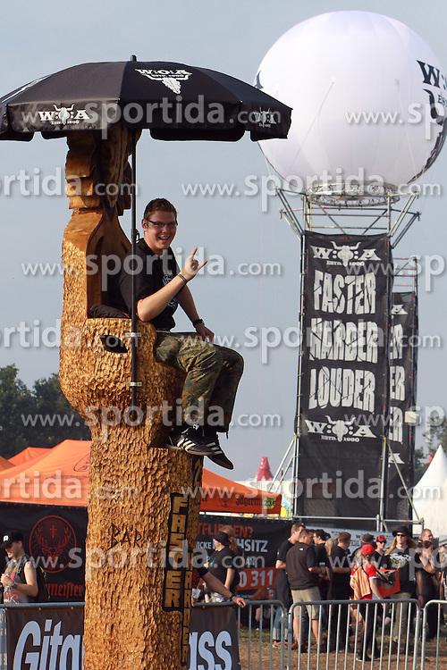 04.08.2011, Wacken, GER, W:O:A Wacken Open Air 2011, im Bild Pfahlsitzen beim groesstem Heavy Metal Festival, EXPA Pictures © 2011, PhotoCredit: EXPA/ nph/  Kohring       ****** out of GER / CRO  / BEL ******