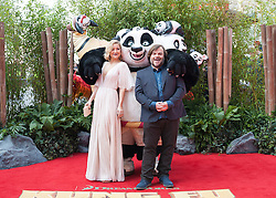 Kate Hudson and Jack Black attends the European Premiere of 'Kung Fu Panda 3' at the Odeon Leicester Square in London, England. 6th March 2016. EXPA Pictures © 2016, PhotoCredit: EXPA/ Photoshot/ James Warren<br /> <br /> *****ATTENTION - for AUT, SLO, CRO, SRB, BIH, MAZ, SUI only*****
