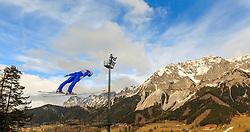 18.12.2015, Nordische Arena, Ramsau, AUT, FIS Weltcup Nordische Kombination, Skisprung, PCR, im Bild Lukas Klapfer (AUT) // Lukas Klapfer of Austria during Skijumping PCR of FIS Nordic Combined World Cup, at the Nordic Arena in Ramsau, Austria on 2015/12/18. EXPA Pictures © 2015, PhotoCredit: EXPA/ JFK