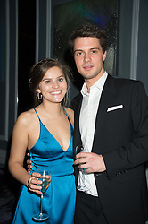POM OGILVY and TOM LORIMER at the Tatler Little Black Book Party at Home House Member's Club, Portman Square, London supported by CARAT on 11th November 2015.