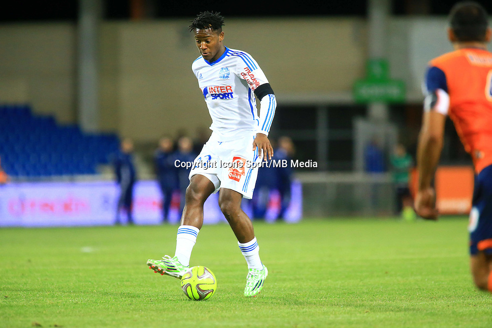 Michy BATSHUAYI - 09.01.2015 - Montpellier / Marseille - 20eme journee de Ligue 1<br />