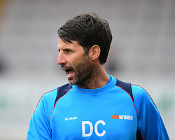 Lincoln City manager Danny Cowley  during the pre-match warm-up <br /> <br /> Picture: Chris Vaughan/Chris Vaughan Photography<br /> <br /> Football - Vanarama National League - Lincoln City Vs Barrow - Saturday 17th September 2016 - Sincil Bank - Lincoln<br /> <br /> Copyright © 2016 Chris Vaughan Photography. All rights reserved. Unit 11, Churchill Business Park, Bracebridge Heath, Lincoln, LN4 2FF - Telephone: 07764170783 - info@chrisvaughanphotography.co.uk - www.chrisvaughanphotography.co.uk