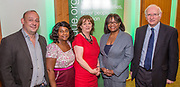 Canon Giles Fraser, Baroness Doreen Lawrence, Frances Crook,  Diane Abbott MP, Dr Alan Billings<br /> The Howard League for Penal reform's Community Awards 2015 The Kings Fund, London, UK. All use must be credited © prisonimage.org