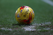 Matchball during the Sky Bet Championship match between Blackburn Rovers and Fulham at Ewood Park, Blackburn, England on 16 February 2016. Photo by Simon Brady.