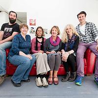 LtoR: Daniel Trussell, Bairbre Geraghty, Elke Vallaster, Ann O'Donoghue, Debbie Green, and Brian Davis