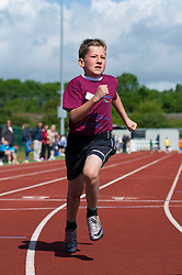 Children participate in track running during the Bristol Sport Festival - Photo mandatory by-line: Dougie Allward/JMP - Mobile: 07966 386802 - 06/06/2015 - SPORT - Multi-Sport - Bristol - SGS Wise Campus - Bristol Sport Festival Of Youth Sport - Festival Of Youth