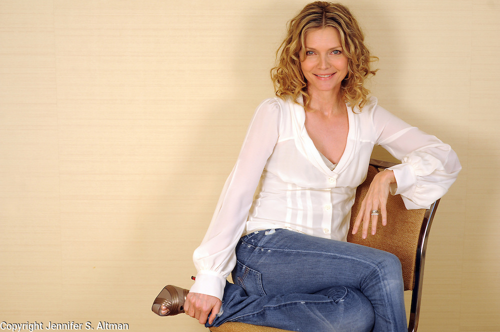 MANHATTAN, NEW YORK. JUNE 15, 2009 Actress Michelle Pfeiffer, who stars in the movie Cherie, is seen in the Four Seasons Hotel in Manhattan, NY. 6/15/2009 Photo by Jennifer S. Altman/For The Times
