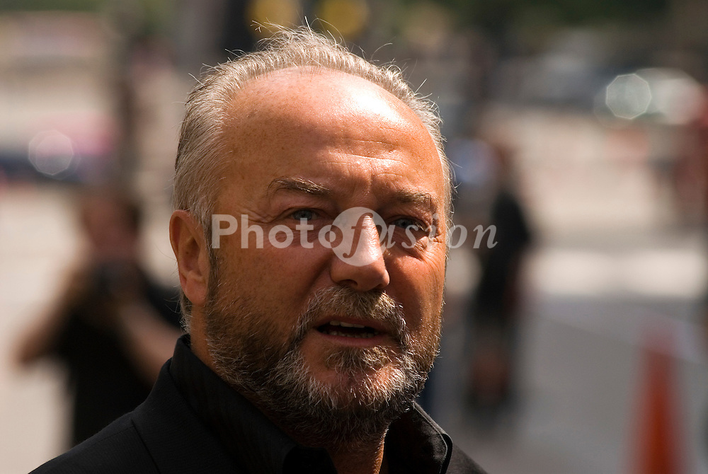 Respect MP George Galloway at Stop the War Demo; London 5 August 2006 UK