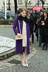 Emma Greenwell arrives at the Miu Miu show as part of the Paris Fashion Week Womenswear Fall, Winter 2016, 2017 on March 9, 2016 in Paris, France. EXPA Pictures &copy; 2016, PhotoCredit: EXPA/ Photoshot/ Zenon Stefaniak<br /> <br /> *****ATTENTION - for AUT, SLO, CRO, SRB, BIH, MAZ, SUI only*****