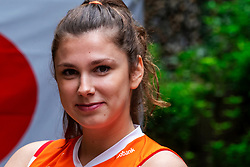 13-10-2018 JPN: World Championship Volleyball Women day 14, Nagoya<br /> Portraits Dutch Volleybal Team - Juliet Lohuis #7 of Netherlands