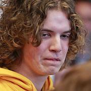 NLD/Amsterdam/20110314 - Presentatie nieuwe Helden en 14 jarig bestaan Johan Cruijff Foundation, snowboarder Merijn Koek
