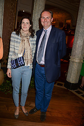 WILLIAM CASH and LADY LAURA CATHCART at the Dom Perignon Rose 2002 Dark Jewel launch with Stephen Webster held at The Connaught Hotel, London on 12th June 2013.
