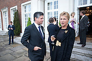 PETER SOROS; MARCHIONESS OF DOURA, Reception to launch American Ballet TheatreÕs  International Council in support of cross-cultural educational exchange and international touring.<br /> An educational exchange program between<br /> American Ballet Theatre and The Royal Ballet. Hosted by AMBASSADOR LOUIS B. SUSMAN, MRS. MARJORIE SUSMAN. Winfield House. Regents Park. London. 27 April 2010 *** Local Caption *** -DO NOT ARCHIVE-© Copyright Photograph by Dafydd Jones. 248 Clapham Rd. London SW9 0PZ. Tel 0207 820 0771. www.dafjones.com.<br /> PETER SOROS; MARCHIONESS OF DOURA, Reception to launch American Ballet Theatre's  International Council in support of cross-cultural educational exchange and international touring.<br /> An educational exchange program between<br /> American Ballet Theatre and The Royal Ballet. Hosted by AMBASSADOR LOUIS B. SUSMAN, MRS. MARJORIE SUSMAN. Winfield House. Regents Park. London. 27 April 2010