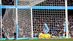 Gabriel Jesus of Manchester City scores his sides second goal  - Mandatory by-line: Matt McNulty/JMP - 05/02/2017 - FOOTBALL - Etihad Stadium - Manchester, England - Manchester City v Swansea City - Premier League