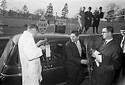 17/3/1966<br /> 3/17/1966<br /> 17 March 1966<br /> <br /> Mr. L. Cornane in the Renault 4L Economy Run Contest