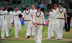 Chris Rogers of Somerset walks off the pitch for the final time after retiring.  - Mandatory by-line: Alex Davidson/JMP - 22/09/2016 - CRICKET - Cooper Associates County Ground - Taunton, United Kingdom - Somerset v Nottinghamshire - Specsavers County Championship Division One