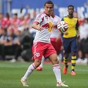 Tim Cahill, New York Red Bulls, in action during the New York Red Bulls Vs Arsenal FC,  friendly football match for the New York Cup at Red Bull Arena, Harrison, New Jersey. USA. 26h July 2014. Photo Tim Clayton