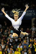 University of Utah senior Gael Mackie during her balance beam routine at the 2011 Women's NCAA Gymnastics Championship Team Finals on April 16, in Cleveland, OH. (photo/Jason Miller)