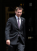 © Licensed to London News Pictures. 26/06/2012. Westminster, UK Jeremy Hunt Secretary of State for Culture, Olympics, Media and Sport  on Downing Street today 26th June 2012. Photo credit : Stephen Simpson/LNP