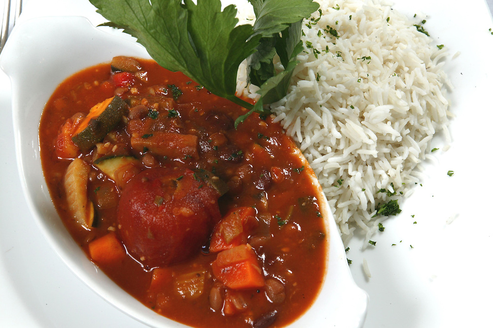 A healthy bean stew filled with nourishing vegetables makes great winter fare, Wanganui, New Zealand, June 08, 2005. Credit:SNPA / Rob Tucker
