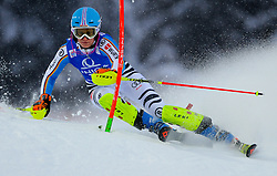 15.01.2016, Hermann Maier Weltcupstrecke, Flachau, AUT, FIS Weltcup Ski Alpin, Flachau, Damen, Slalom, 1. Lauf, im Bild Lena Duerr (GER) // Lena Duerr of Germany competes in the 1st run of Ladie's Slalom for the FIS Ski Alpine World Cup at the Hermann Maier Weltcupstrecke in Flachau, Austria on 2016/01/15. EXPA Pictures © 2016, PhotoCredit: EXPA/ Erich Spiess