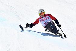 PEDERSEN Jesper LW11 NOR competing in ParaSkiAlpin, Para Alpine Skiing, Super G at PyeongChang2018 Winter Paralympic Games, South Korea.