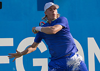 Tennis - 2017 Aegon Championships [Queen's Club Championship] - Day Three, Wednesday<br /> <br /> Men's Singles: Round of 16 _ Tomas Berdych (CZE) Vs Denis Shapovalov (CAN)<br /> <br /> Denis Shapovalov (CAN) at Queens Club<br /> <br /> COLORSPORT/DANIEL BEARHAM