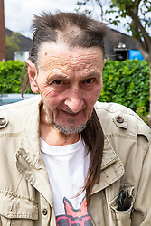 Peter Hill, 69, a local resident heard the commotion while lying in bed in in his flat near where seven-year-old Joel Urhie died in a suspected arson attack on his home in Deptford in the early hours of Tuesday 7th August. London, August 08 2018.