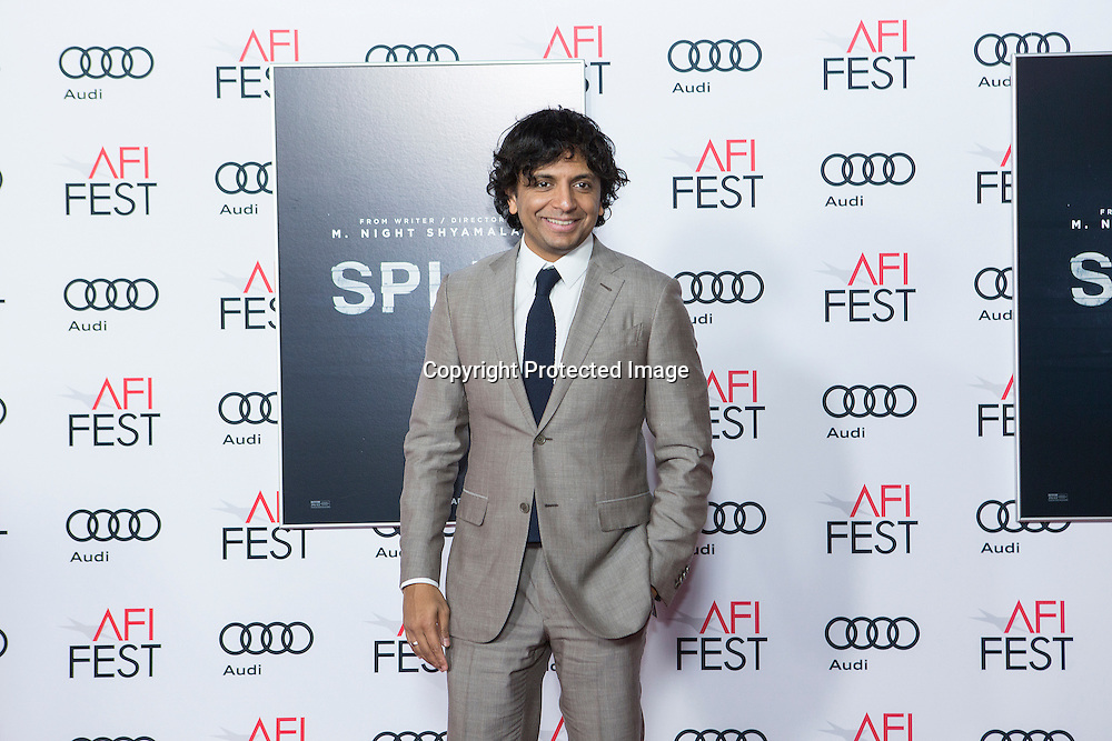 Director, writer, producer M. Night Shyamalan attends Split premiere at AFI Fest 2016, presented by AUDI at the TCL Chinese Theatre in Hollywood, CA on November 15th