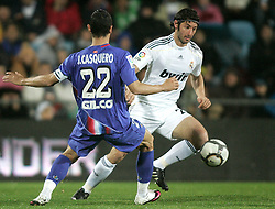 25.03.2010, Coliseum Alfonso Perez, Madrid, ESP, Primera Divison, FC Getafe vs Real Madrid, im Bild Real Madrid's Esteban Granero, EXPA Pictures © 2010, PhotoCredit: EXPA/ Alterphotos/ Alvaro Hernandez / SPORTIDA PHOTO AGENCY