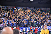 Ultras, Tifosi, Spettatori, Pubblico Happycasa Brindisi<br /> Vanoli Cremona - Happy Casa Brindisi <br /> Finale<br /> LBA Serie A Final 8 Eight Postemobile 2018-2019<br /> Firenze, 17/02/2019<br /> Foto Michele Longo / Ciamillo-Castoria