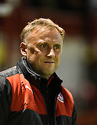 Crawley manager Mark Yeates during the Sky Bet League 2 match between Crawley Town and Northampton Town at the Checkatrade.com Stadium, Crawley, England on 24 November 2015. Photo by David Charbit.