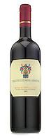 montalcino red wine bottle