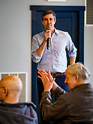 04 APRIL 2019 - CARROLL, IOWA: BETO O'ROURKE speaks at a meet and greet campaign event in Carroll, IA. Beto O'Rourke stopped at Kerps Tavern in Carroll to campaign for president Thursday. He is crisscrossing Iowa through the weekend with stops throughout the state. Iowa holds its caucuses, considered the kickoff of the US Presidential campaign, on Feb. 3, 2020.     PHOTO BY JACK KURTZ