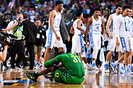 GLENDALE, AZ - APRIL 01: Dylan Ennis #31 of the Oregon Ducks reacts to the loss during the 2017 NCAA Men's Final Four Semifinal against the North Carolina Tar Heels at University of Phoenix Stadium on April 1, 2017 in Glendale, Arizona.  (Photo by Brett Wilhelm/NCAA Photos via Getty Images) *** Local Caption *** Dylan Ennis