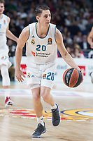 Real Madrid Jaycee Carroll during Turkish Airlines Euroleague match between Real Madrid and Anadolu Efes at Wizink Center in Madrid, Spain. January 25, 2018. (ALTERPHOTOS/Borja B.Hojas)