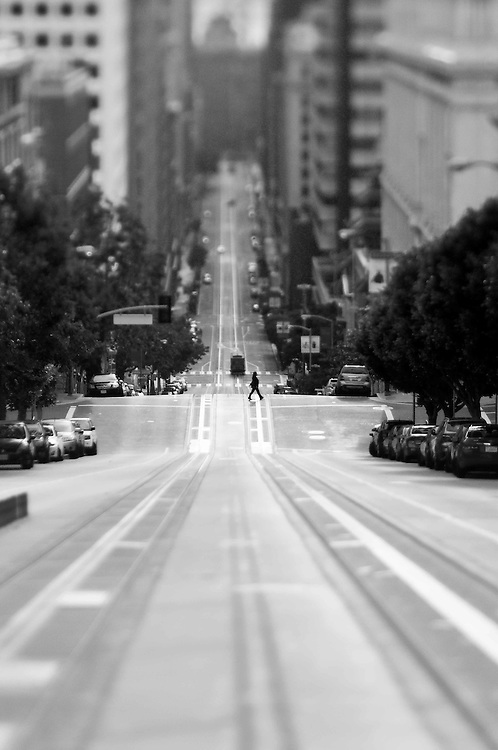 Fred Lyon Inspired images. Photographed on Nob Hill in San Francisco, CA with a Lens Baby Composer Pro Optic 80
