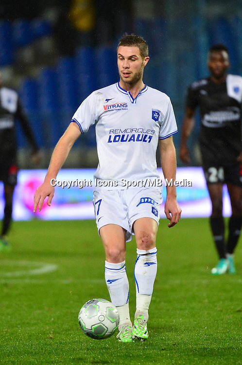 Pierre BOUBY   - 19.12.2014 - Auxerre / Niort - 18e journee Ligue 2<br /> Photo : Dave Winter / Icon Sport